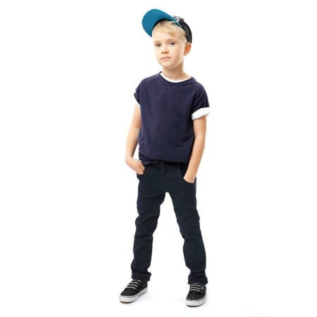 Chino - Boys Navy trousers Slim Fit